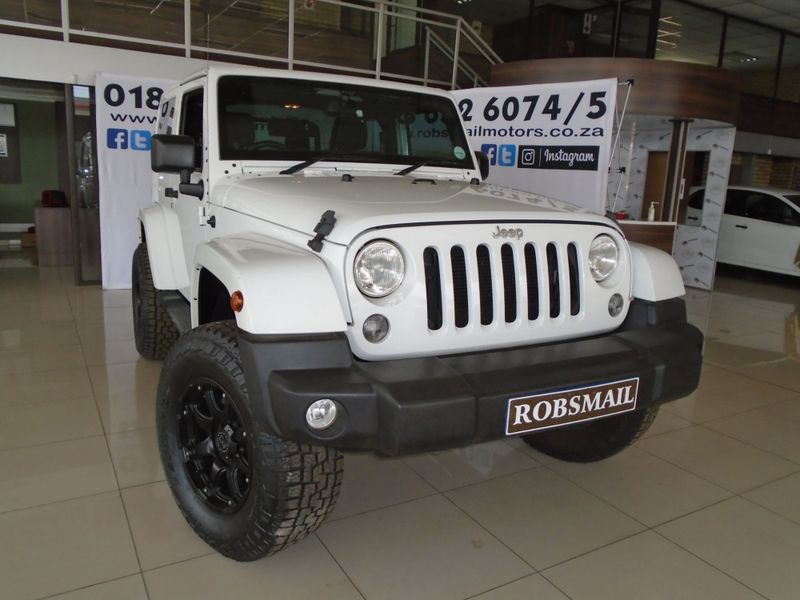 2016 Jeep Wrangler Sahara 3.6l V6 At 2dr  North West Province Lichtenburg_0