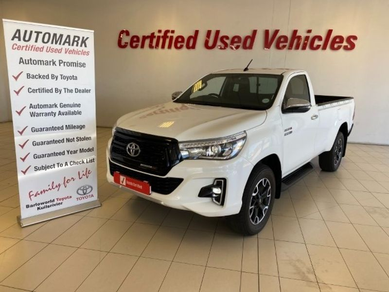 2019 Toyota Hilux 2.8 GD-6 Raider 4X4 Single Cab Bakkie Western Cape Kuils River_0