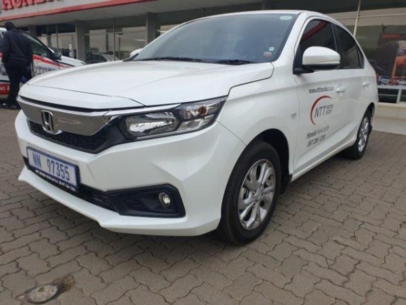2020 Honda Amaze 1.2 Comfort Kwazulu Natal Newcastle_0