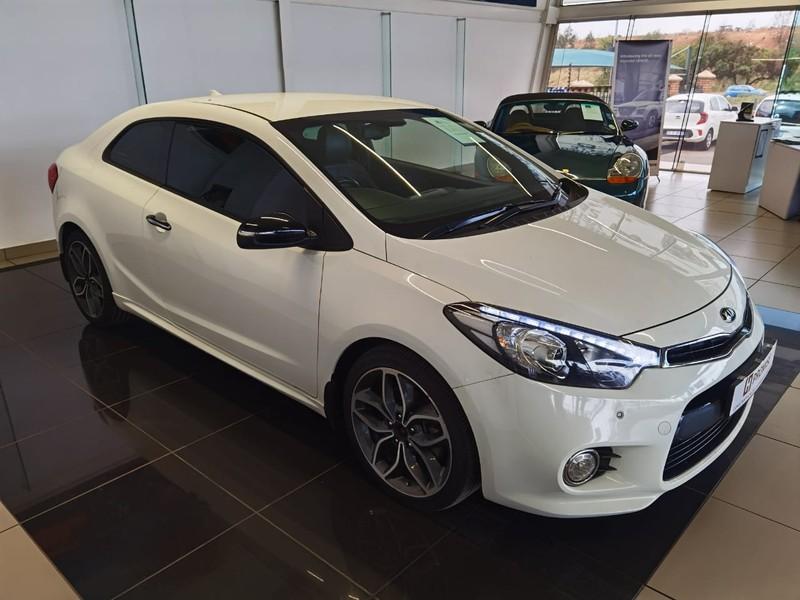 2016 Kia Cerato KOUP 1.6T GDi Auto Gauteng Roodepoort_0