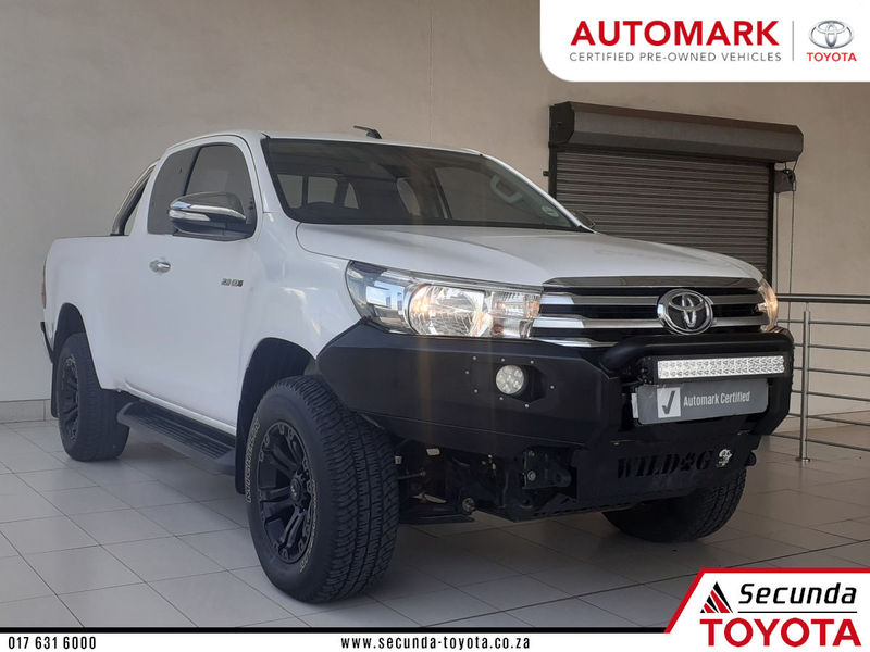 2017 Toyota Hilux 2.8 GD-6 Raider 4x4 Extended Cab Bakkie Mpumalanga Secunda_0