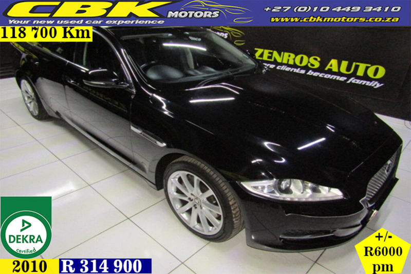 2010 Jaguar XJ 3.0 V6 D S Premium Luxury  Gauteng Boksburg_0