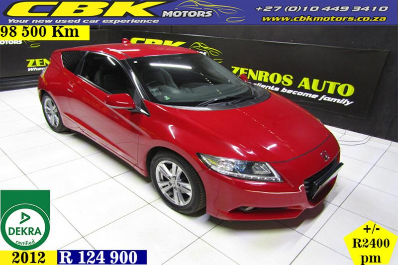 2012 Honda CR-Z 1.5  Gauteng Boksburg_0