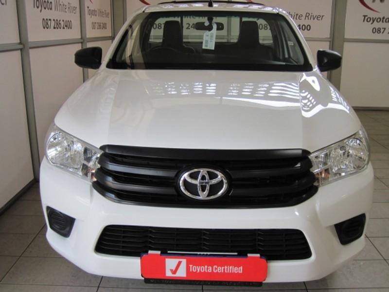 2018 Toyota Hilux 2.4 GD Single Cab Bakkie Mpumalanga White River_0