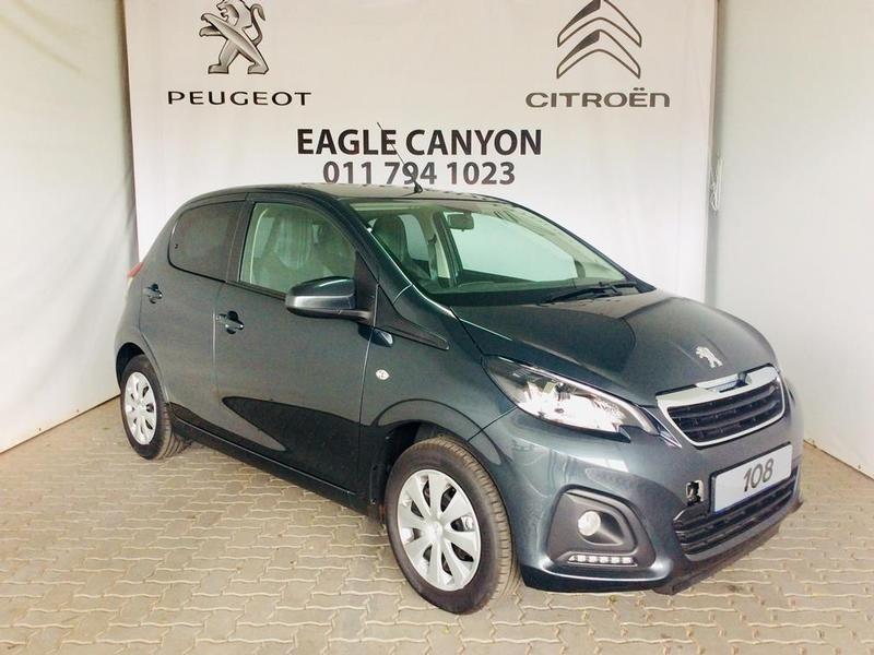 2020 Peugeot 108 1.0 THP Active Gauteng Randburg_0