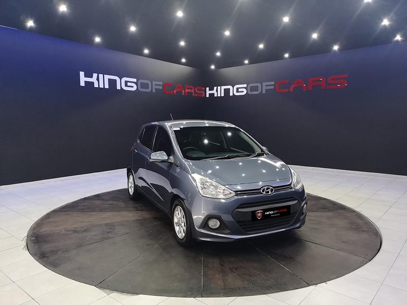 2016 Hyundai Grand i10 1.25 Fluid Gauteng Boksburg_0