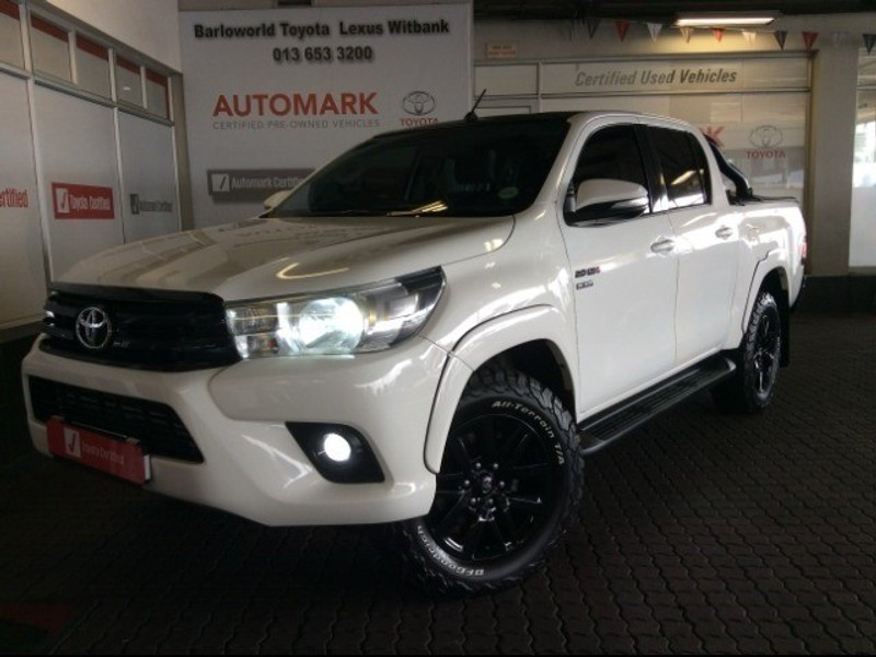 2017 Toyota Hilux 2.8 GD-6 Raider 4X4 Double Cab Bakkie Auto Mpumalanga Witbank_0