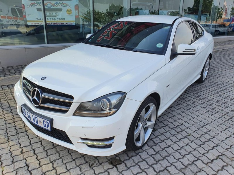 2014 Mercedes-Benz C-Class C180 Be Coupe At  Mpumalanga Nelspruit_0