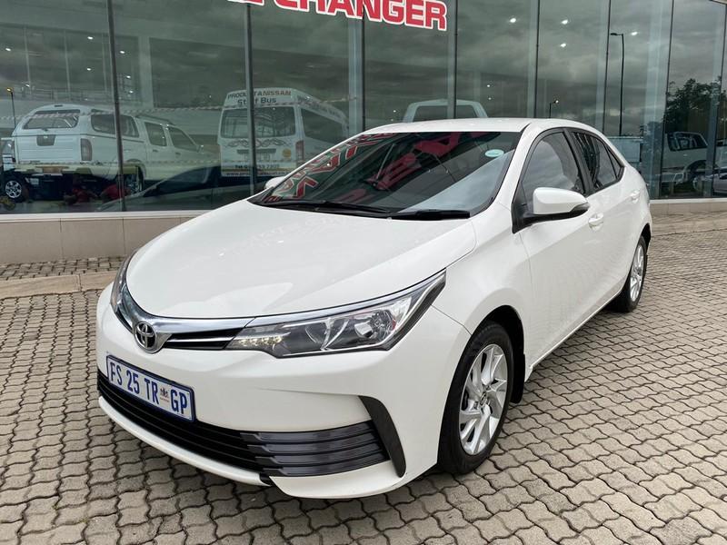 2017 Toyota Corolla 1.6 Prestige Mpumalanga Nelspruit_0