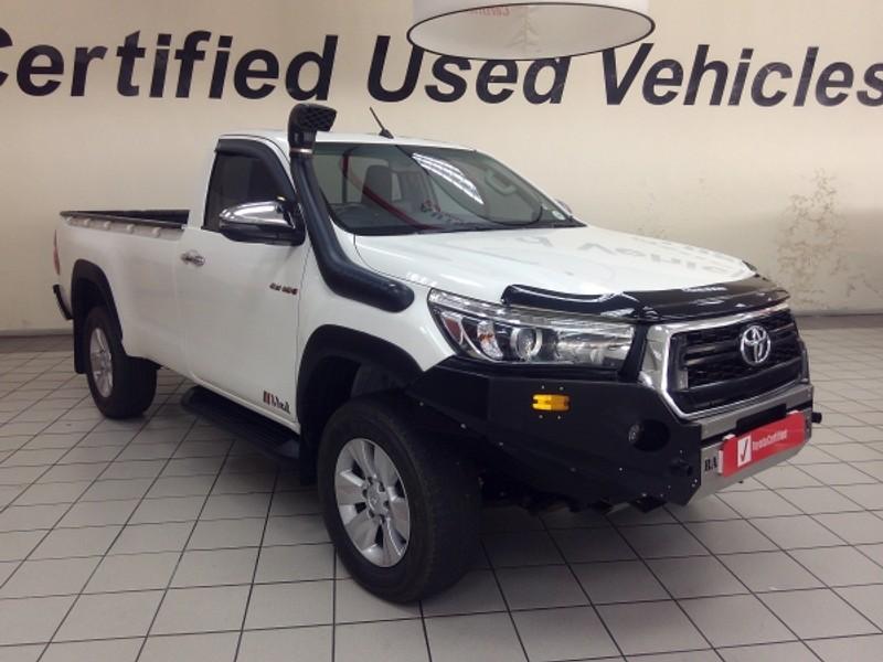 2018 Toyota Hilux 2.8 GD-6 Raider 4x4 Single Cab Bakkie Auto Limpopo Tzaneen_0