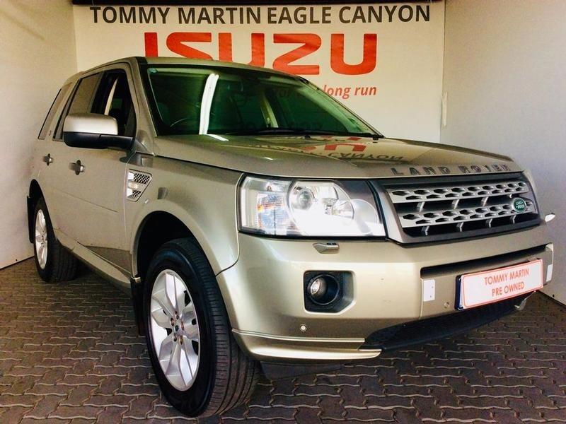 2013 Land Rover Freelander Ii 2.2 Sd4 Se At  Gauteng Randburg_0
