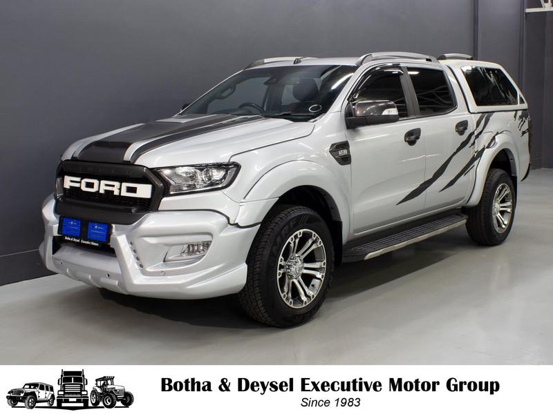 2017 Ford Ranger 3.2TDCi WILDTRAK Auto Double Cab Bakkie Gauteng Vereeniging_0