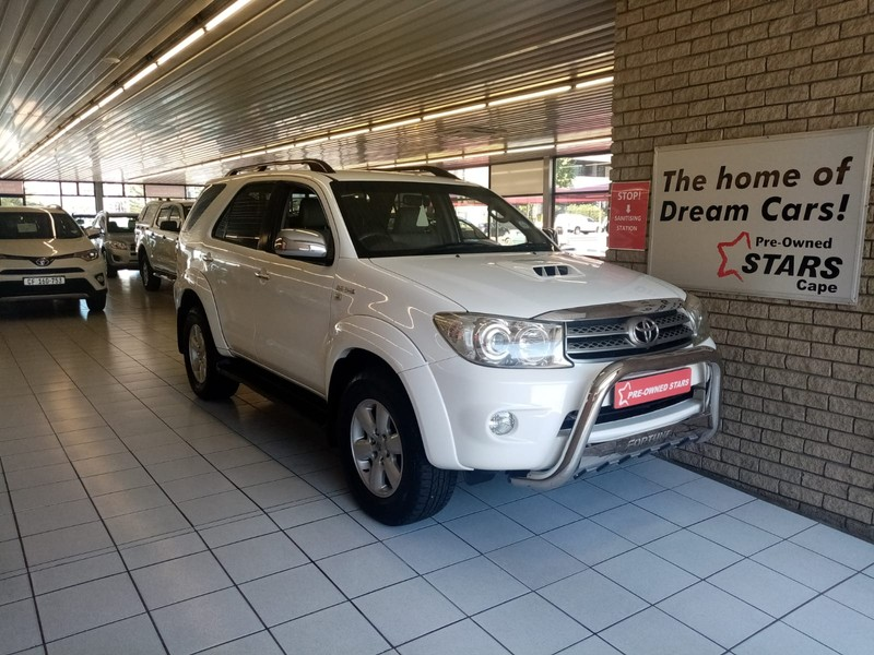 2011 Toyota Fortuner 3.0d-4d Rb At  Western Cape Bellville_0