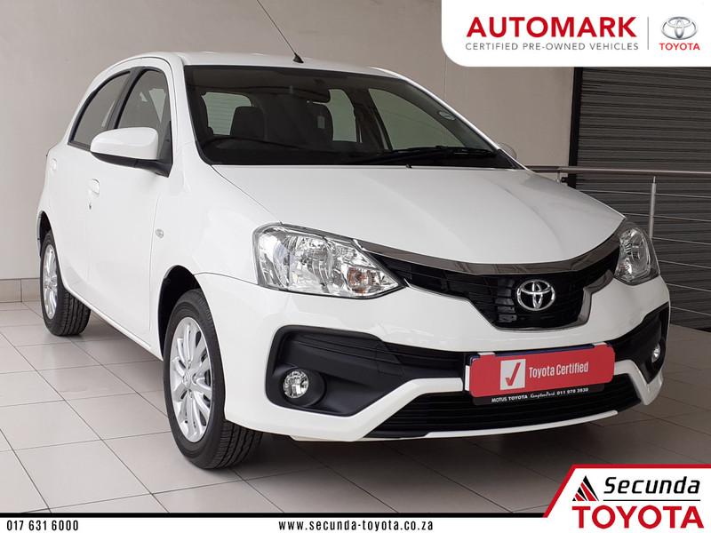 2020 Toyota Etios 1.5 Xs 5dr  Mpumalanga Secunda_0