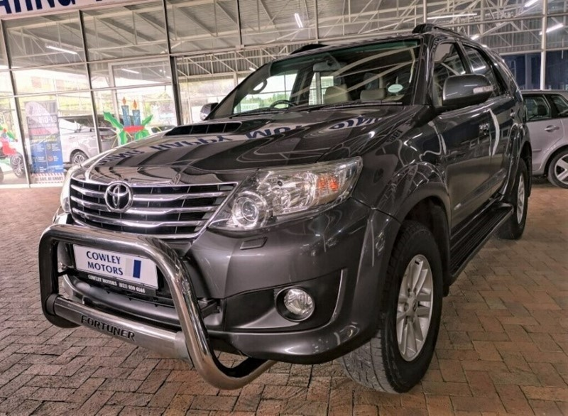 2012 Toyota Fortuner 3.0d-4d Rb At  Western Cape Parow_0