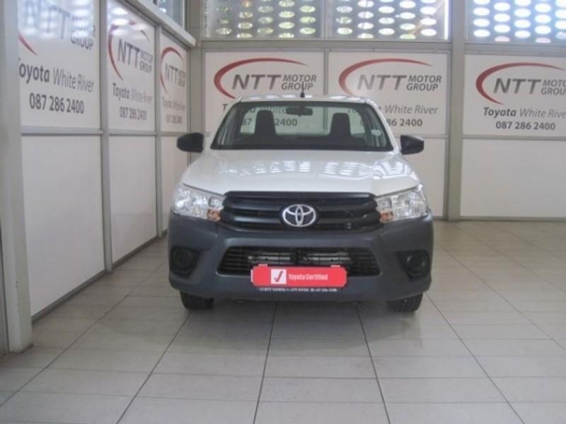 2019 Toyota Hilux 2.0 VVTi AC Single Cab Bakkie Mpumalanga White River_0