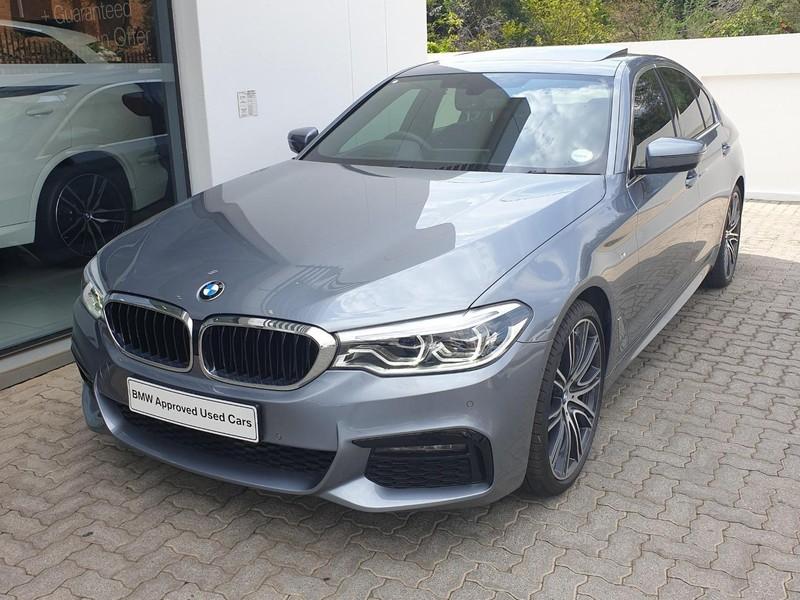 2019 BMW 5 Series 520d M Sport Gauteng Johannesburg_0