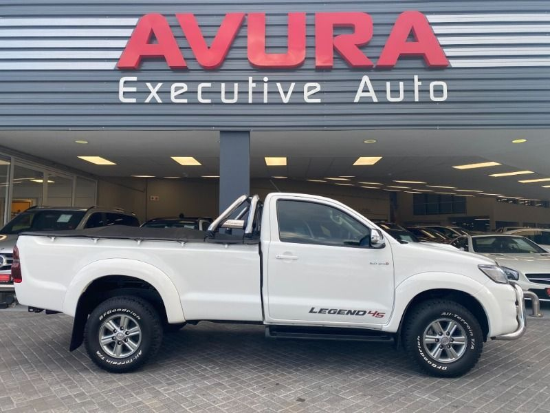 2014 Toyota Hilux 3.0 D-4D 4X4 LEGEND 45 Single Cab Bakkie North West Province Rustenburg_0