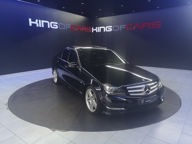 2012 Mercedes-Benz C-Class C350 Be Elegance At  Gauteng Boksburg_0