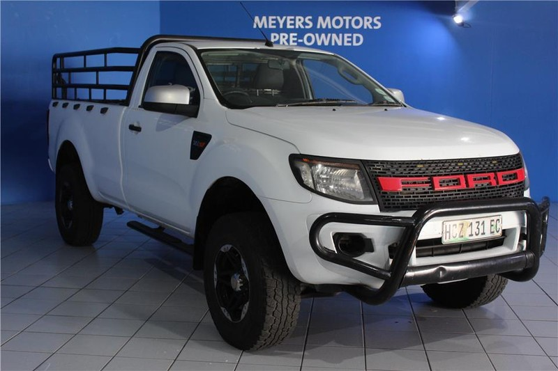 2013 Ford Ranger 3.2TDCi XLS 4X4 Single cab Bakkie Eastern Cape East London_0