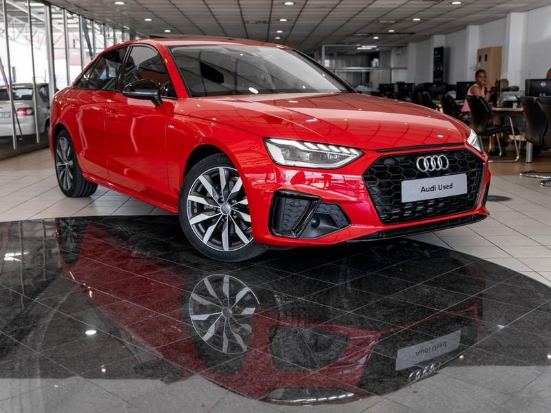 2020 Audi A4 2.0T FSI S Line STRONIC 40 TSFI Gauteng Pretoria_0