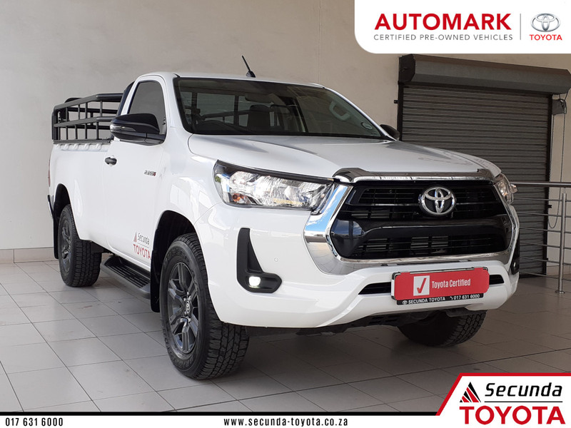 2020 Toyota Hilux 2.4 GD-6 RB Raider Single Cab Bakkie Mpumalanga Secunda_0