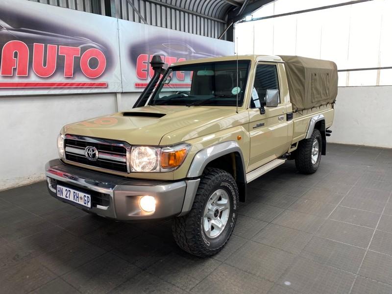 2018 Toyota Land Cruiser 70 4.5D Single cab Bakkie Gauteng Vereeniging_0