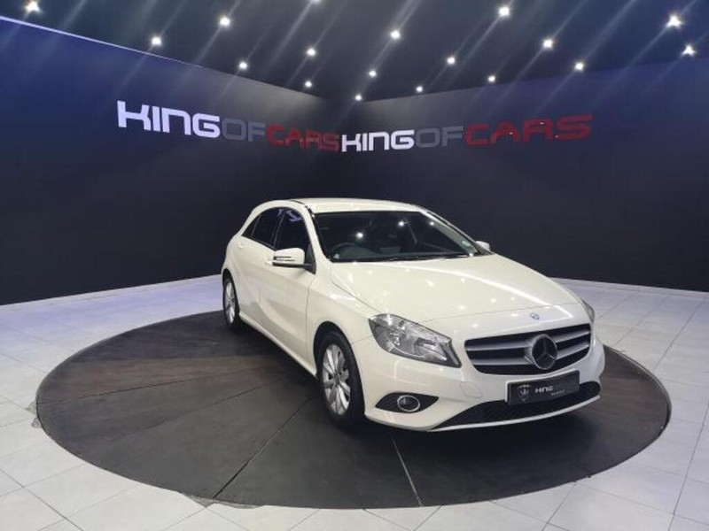 2014 Mercedes-Benz A-Class A 180 Be At  Gauteng Boksburg_0