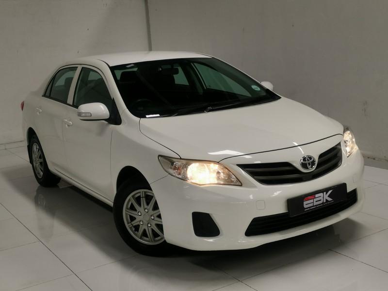 2012 Toyota Corolla 1.6 Professional  Gauteng Johannesburg_0