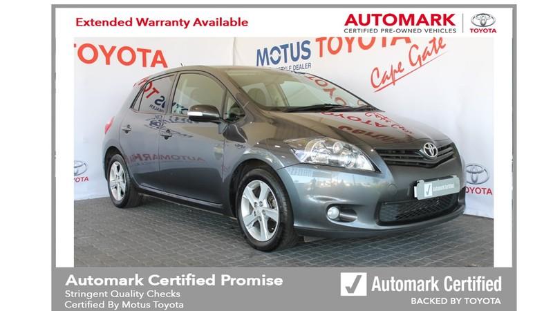 2011 Toyota Auris 1.6 Xr  Western Cape Brackenfell_0