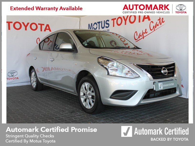 2018 Nissan Almera 1.5 Acenta Auto Western Cape Brackenfell_0