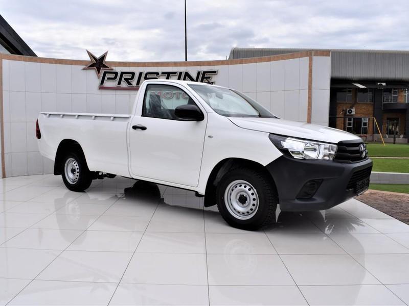 2021 Toyota Hilux 2.0 VVTi S Single Cab Bakkie Gauteng De Deur_0