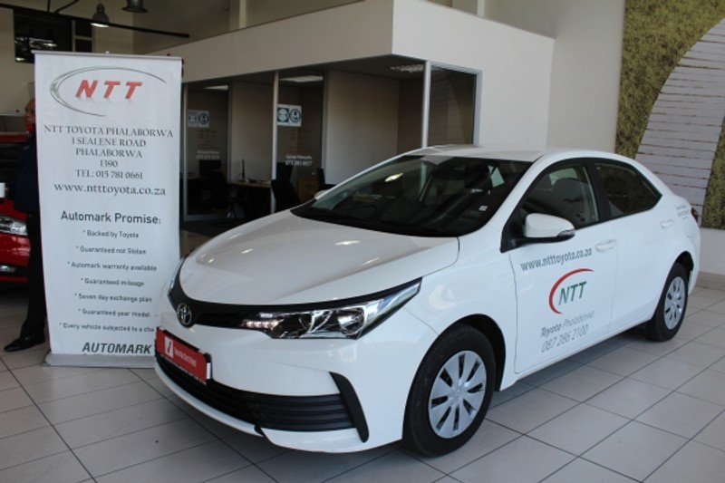 2021 Toyota Corolla Quest 1.8 CVT Limpopo Phalaborwa_0