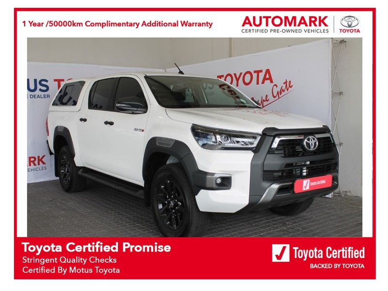 2020 Toyota Hilux 2.8 GD-6 RB Legend Auto Double Cab Bakkie Western Cape Brackenfell_0