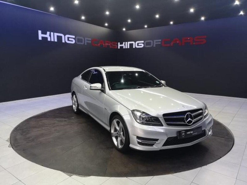 2014 Mercedes-Benz C-Class C180 Be Coupe At  Gauteng Boksburg_0