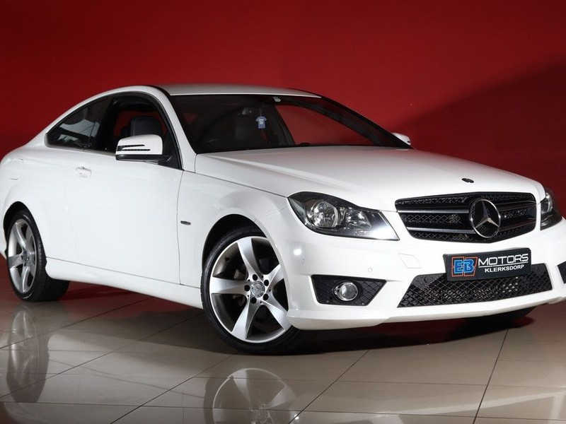 2014 Mercedes-Benz C-Class C180 Be Coupe At  North West Province Klerksdorp_0