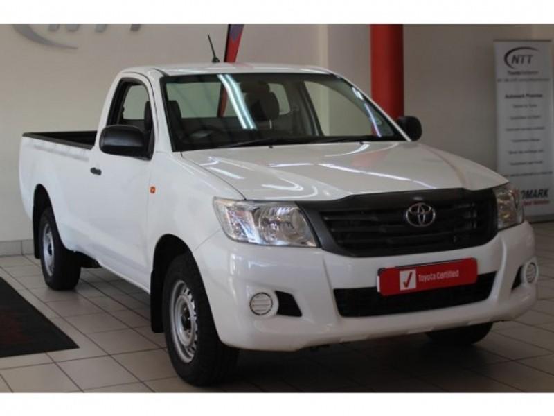 2015 Toyota Hilux 2.0 Vvti Pu Sc  Mpumalanga Barberton_0
