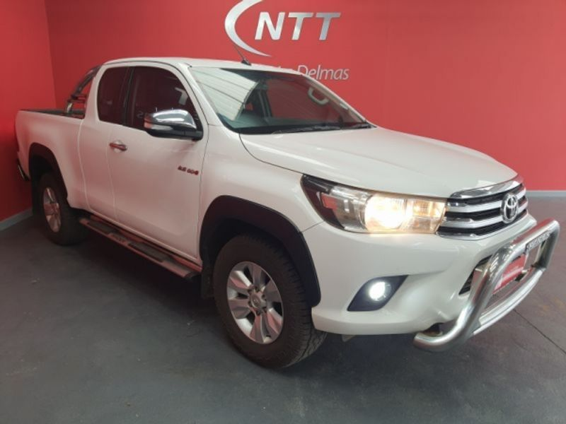 2017 Toyota Hilux 2.8 GD-6 Raider 4x4 Extended Cab Bakkie Mpumalanga Delmas_0
