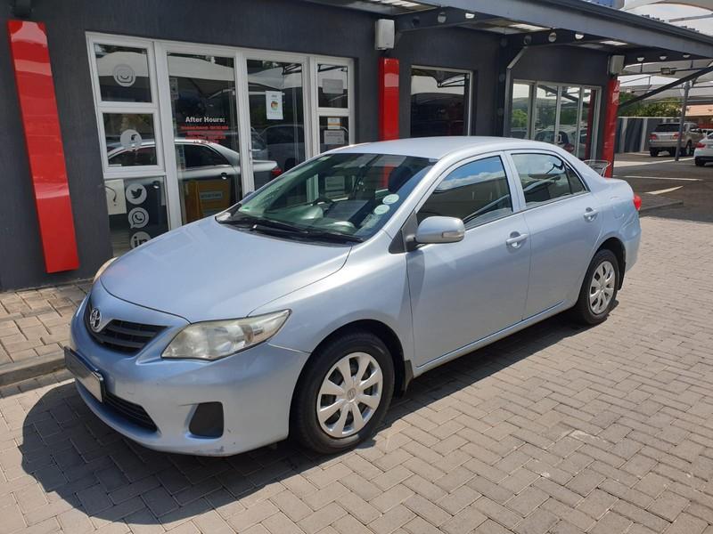 2010 Toyota Corolla 1.3 Professional  Gauteng Vanderbijlpark_0