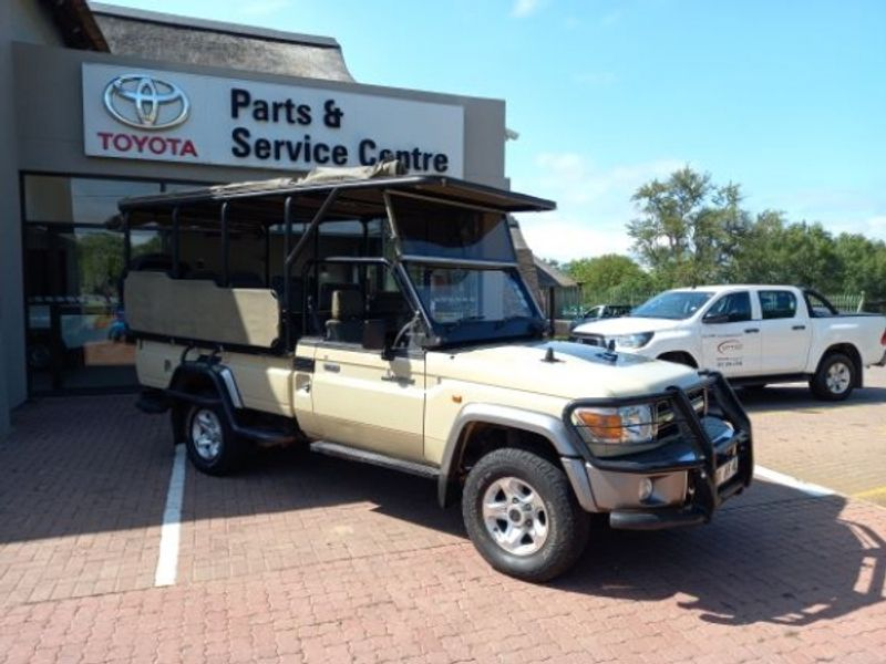 2017 Toyota Land Cruiser 79 4.2d Pu Sc  Limpopo Hoedspruit_0