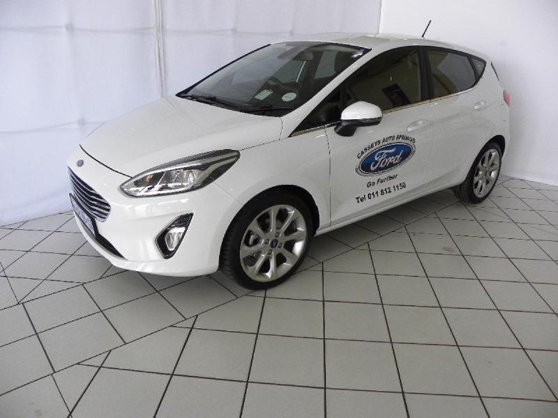 2021 Ford Fiesta 1.0 Ecoboost Trend 5-Door Auto Gauteng Springs_0