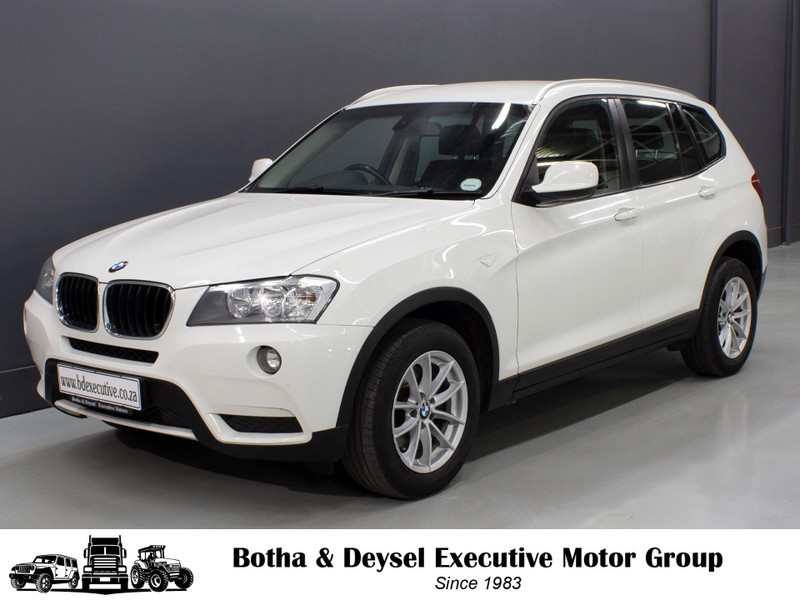 2012 BMW X3 Xdrive20d At  Gauteng Vereeniging_0