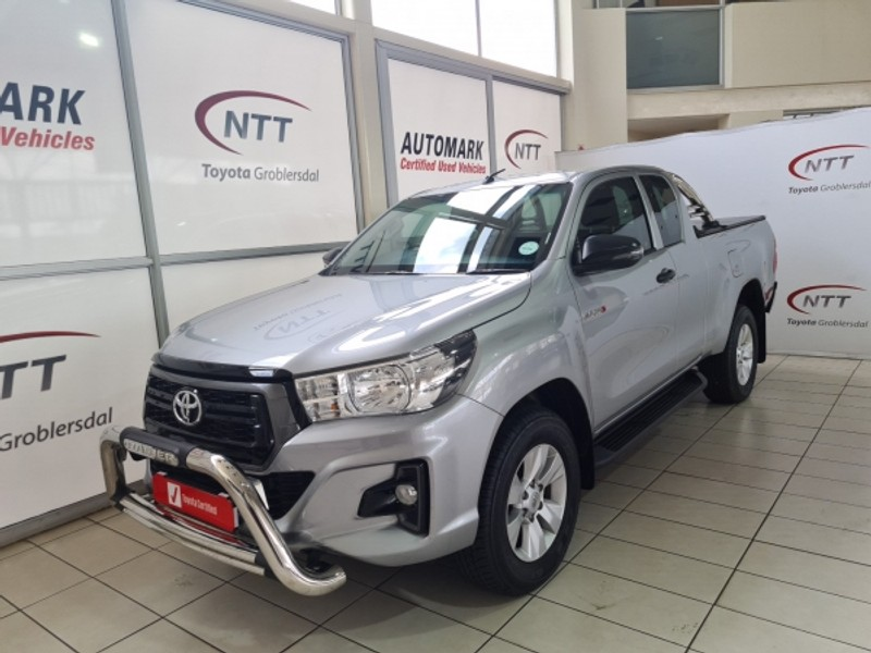 2019 Toyota Hilux 2.4 GD-6 RB SRX AT PU ECAB Limpopo Groblersdal_0