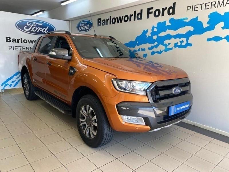 2018 Ford Ranger 3.2TDCi WILDTRAK Auto Double Cab Bakkie Kwazulu Natal Pietermaritzburg_0