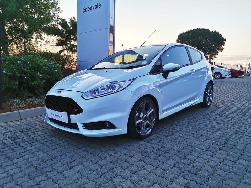 2016 Ford Fiesta ST 1.6 Ecoboost GDTi Gauteng Johannesburg_0