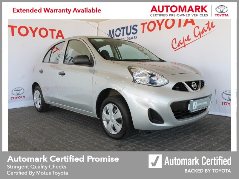 2018 Nissan Micra 1.2 Active Visia Western Cape Brackenfell_0