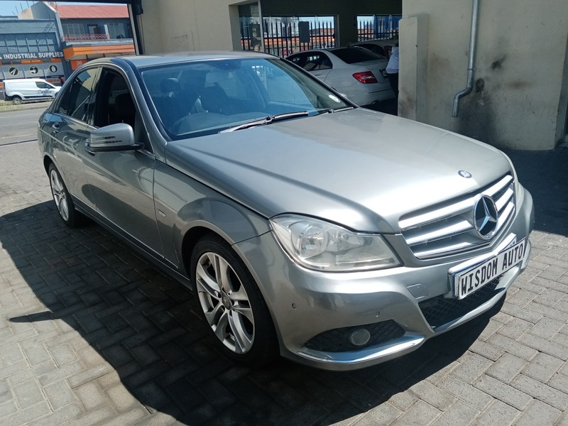 Used Mercedes-Benz C-Class C 200k Estate Sport At for sale ...