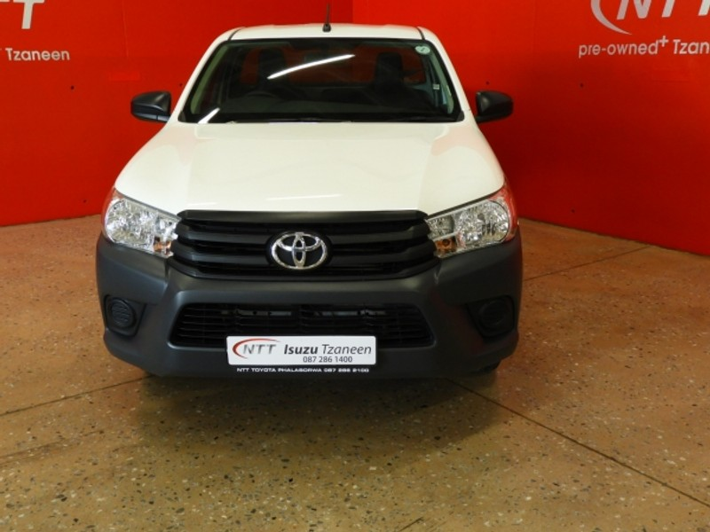 2020 Toyota Hilux 2.4 GD AC Single Cab Bakkie Limpopo Tzaneen_0