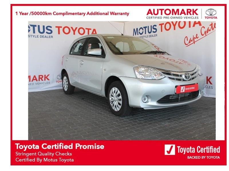 2020 Toyota Etios 1.5 Xi 5dr  Western Cape Brackenfell_0