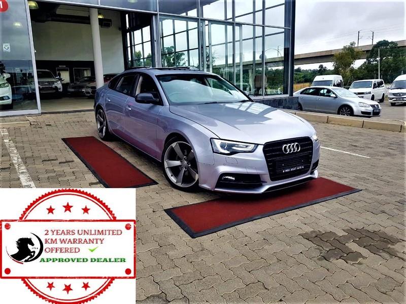 2017 Audi A5 Sportback 2.0 Tdi Multi Gauteng Midrand_0
